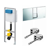 Photo VIEGA Eco Plus WC module (kit: module, button 654696, fasteners), 1130мм [Code number: 727550]
