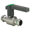 Photo VIEGA Easytop Ball valve, SC-Contur, stainless steel, d 18 [Code number: 554736]