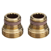 "Photo VIEGA Profipress Adapter set for valve radiator connection piece, G1 1/2"", G2 3/4"" [Code number: 357122]"