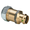 "Photo VIEGA Profipress/Sanpress Adapter union, for steel pipe to Viega press connector systems, bronze, SC-Contur, d 1 1/4"", d1 35 [Code number: 588328]"