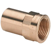 "Photo VIEGA Profipress G Plug-​in piece with plain end, bronze, d 28, Rp 3/4"" [Code number: 130954]"