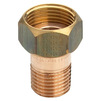 "Photo VIEGA Gunmetal fittings Connection screw fitting, flat sealing, bronze, R 1 1/4"", G 1 1/2"" [Code number: 319618]"