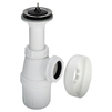 "Photo VIEGA Bottle odour trap without drain pipe, with rosette and valve plug, plastic, G 1 1/4"", d 32 (price on request) [Code number: 102531]"