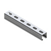 Photo Support channel, 41х21x1,5 mm, length 3000 mm, price for 1 m [Code number: 09368201]