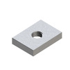 Photo Rail nut universal, type 28-40, 6F, M8 [Code number: 09107001]