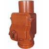 Photo SINIKON Outdoor sewerage Non-return valve, uPVC, D 200 [Code number: 10402000]