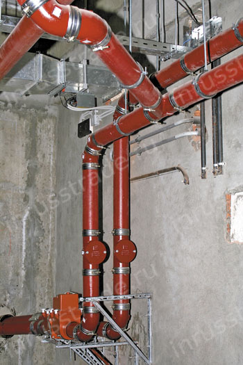 cast iron pipes for drainage system