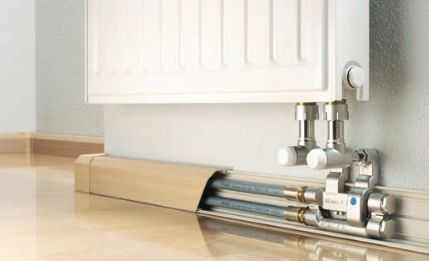 Skirting trunking system RAUSOLO without cover